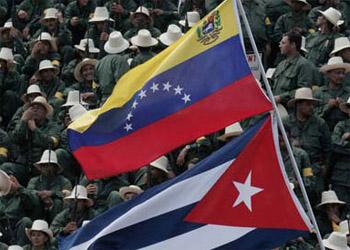 BanderasVenezuelaCuba