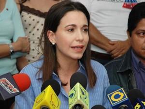 Diputada María Corina Machado